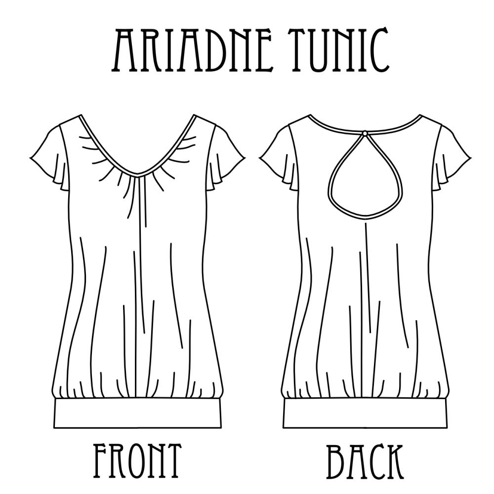 Ariadne tunic Tanit Isis Sews