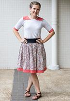 Summer skirt Life Sew Savory