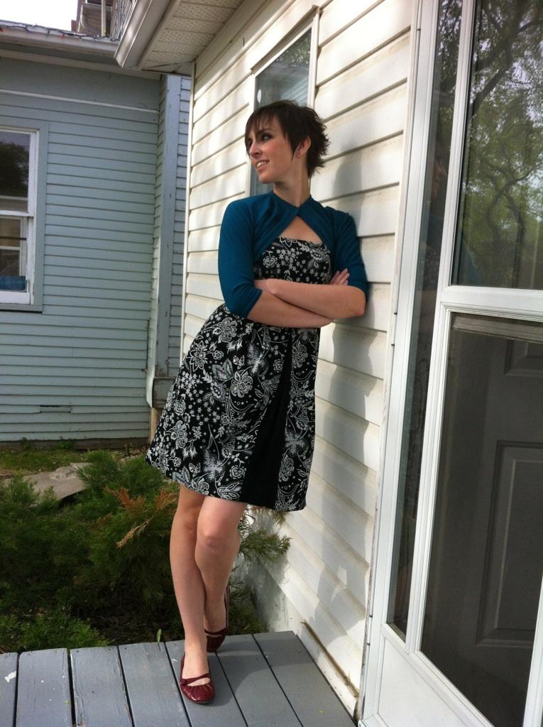 Vintage Shrug Tanit Isis Sews