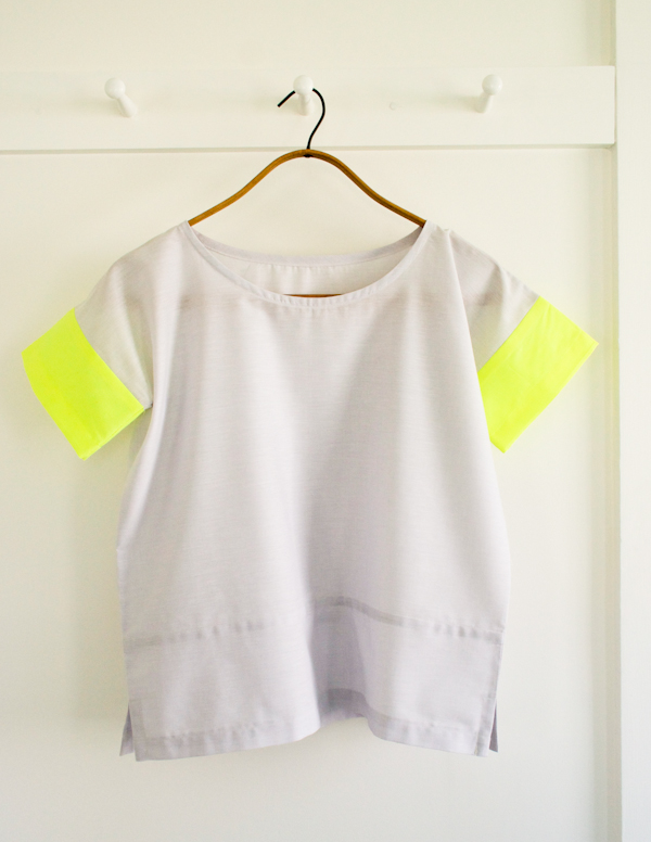 Box Tee (3 ways) Purl Soho