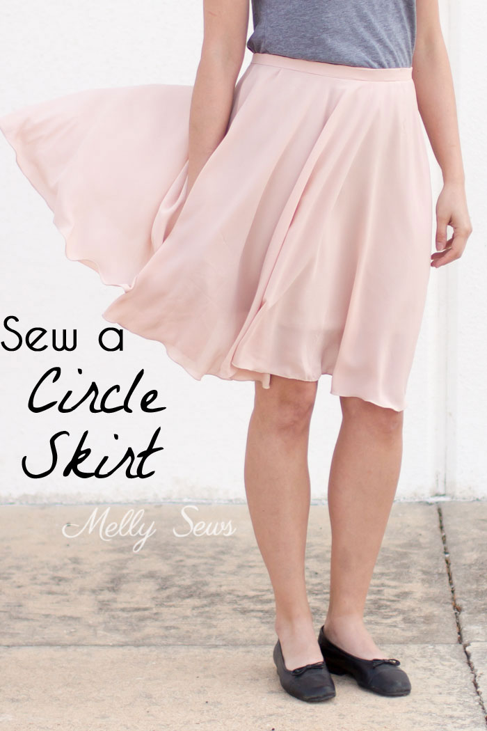 Circle skirt Melly Sews