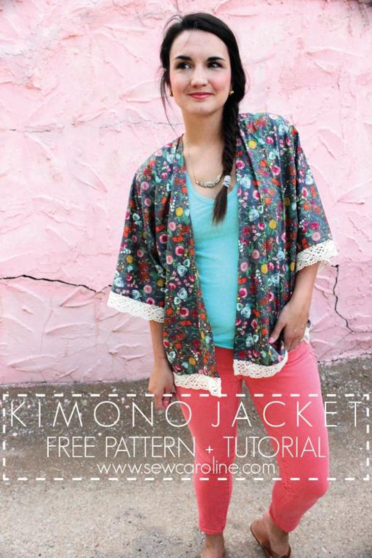 Kimono Jacket Sew Caroline