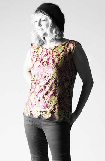 Contrast lace top Sew Different