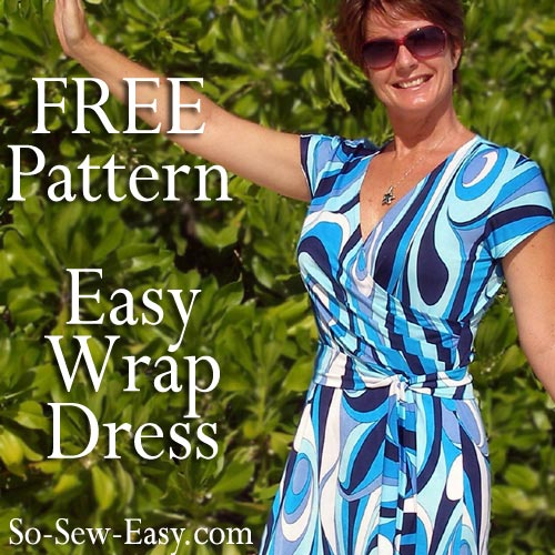 Wrap dress So Sew Easy