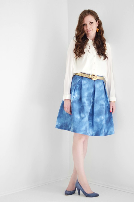 Kate Spade inspired skirt tutorial Melissa Elpin