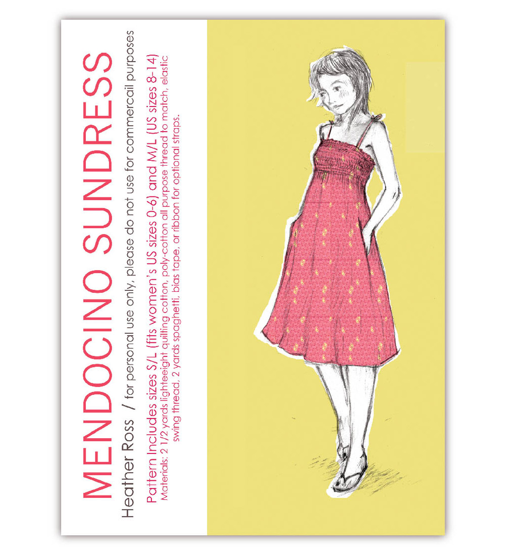 Mendocino sundress Heather Ross