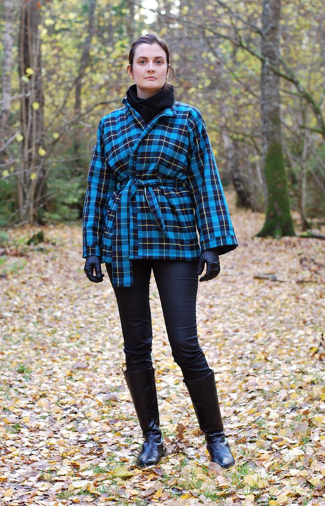 Kimono Jacket Rags to Couture