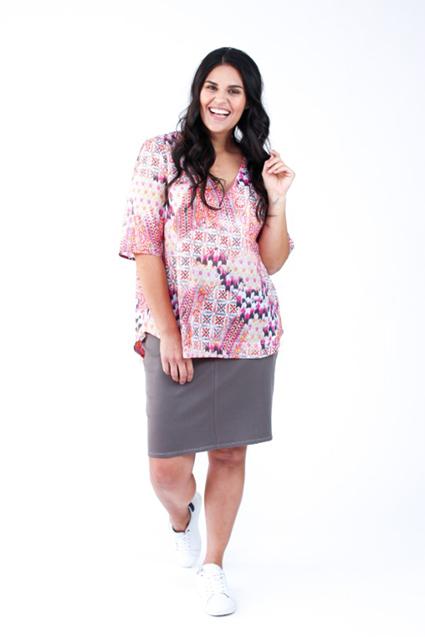 Dove curve blouse - Megan Nielsen