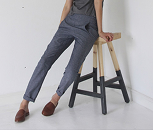 calyer pants - french navy