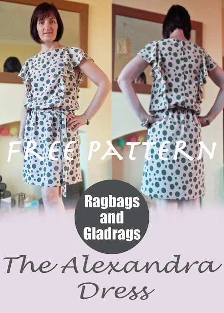 Alexandra dress Ragbags and Gladrags