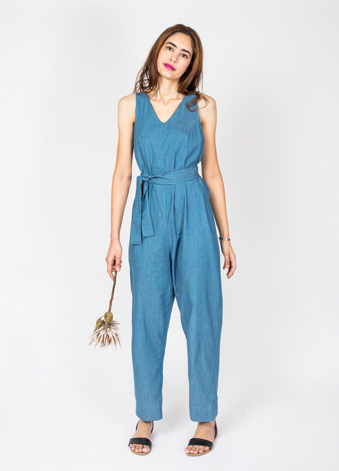 Jumpsuit In the fold & Peppermint mag