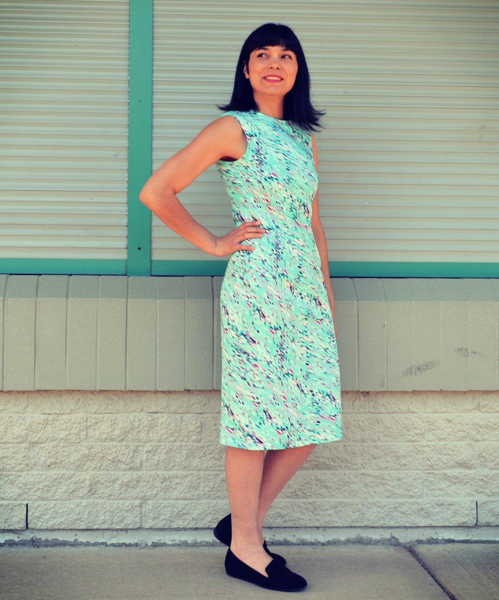 Dajana dress sewing pattern from DG Patterns