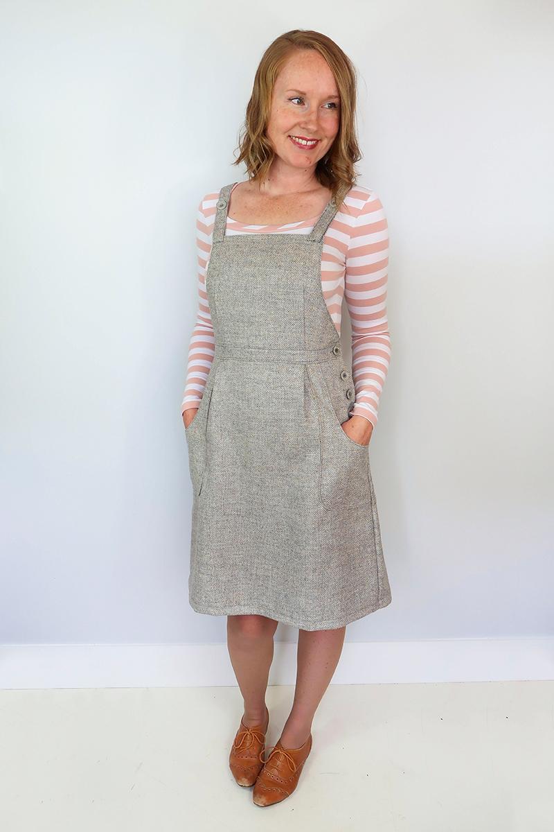 Pippi Pinafore sewing pattern