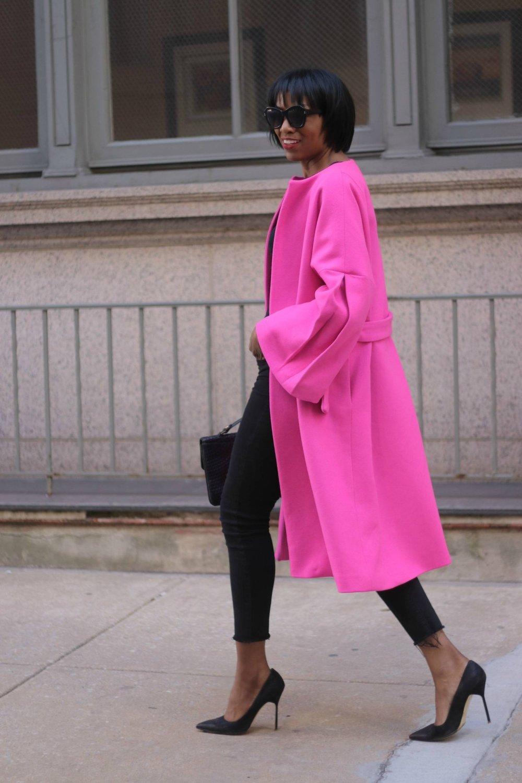 Pink Coat from Beauté J'Adore