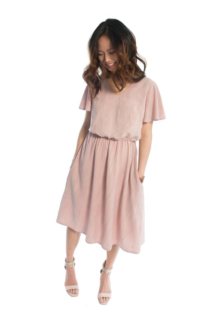 Amalfi Dress from Hey June Handmade