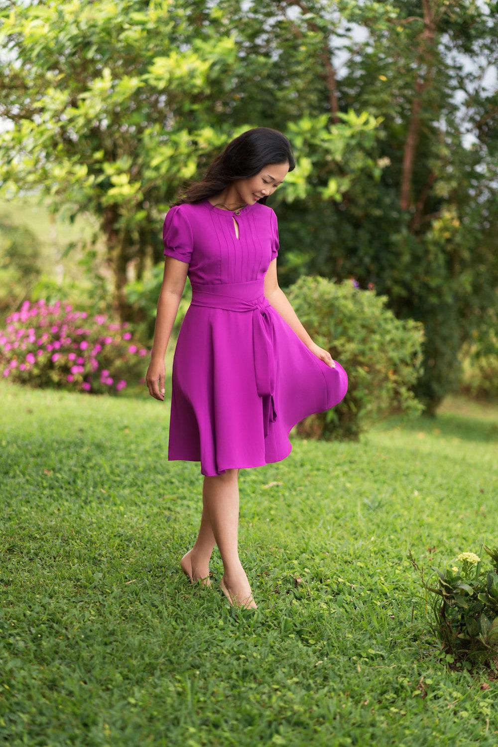Giverny Dress Itch to Stitch