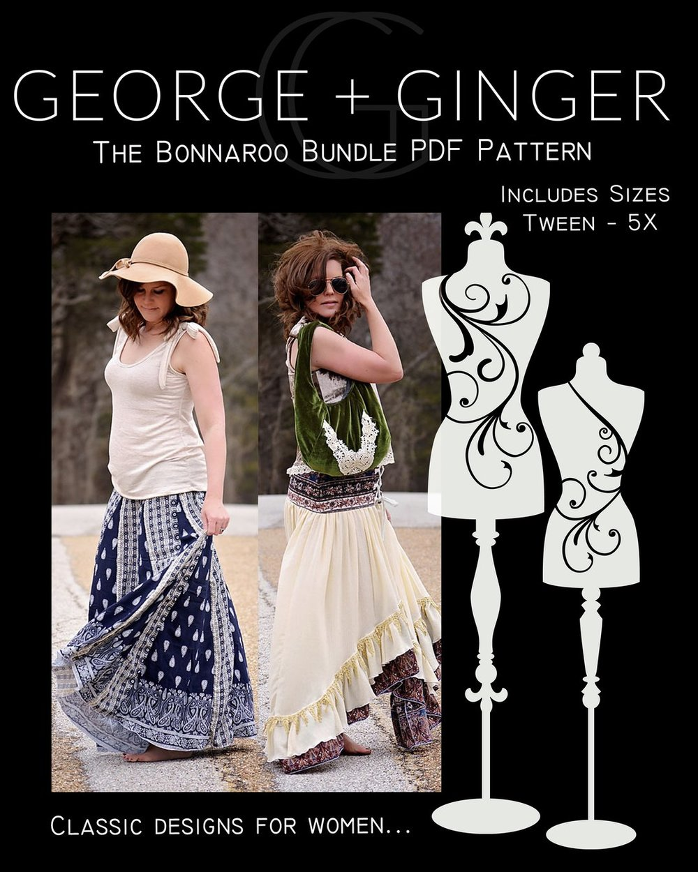 Bonnaroo bundle from George +Ginger