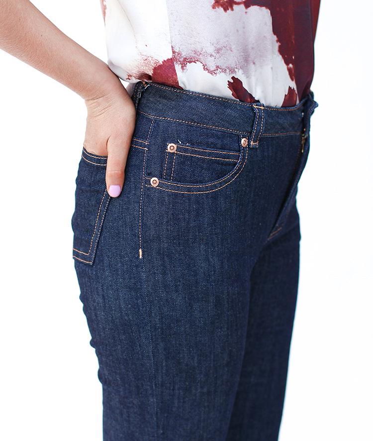 Ash jeans from Megan Nielsen