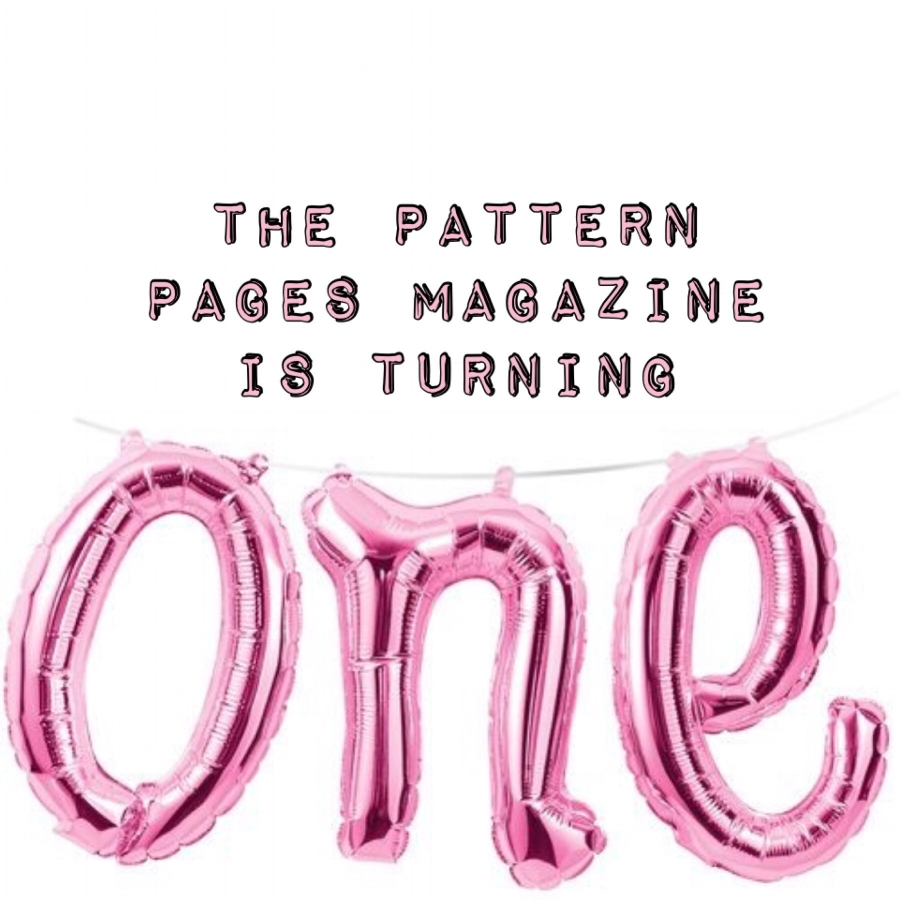 The Pattern Pages is 1 Years Old