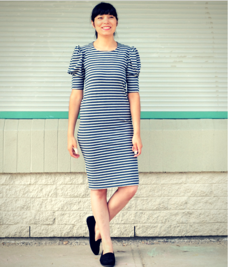 Veronica Dress - DG Patterns