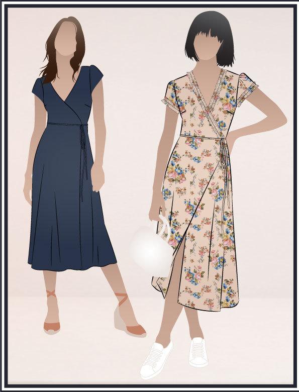 Annabelle Dress - Style Arc