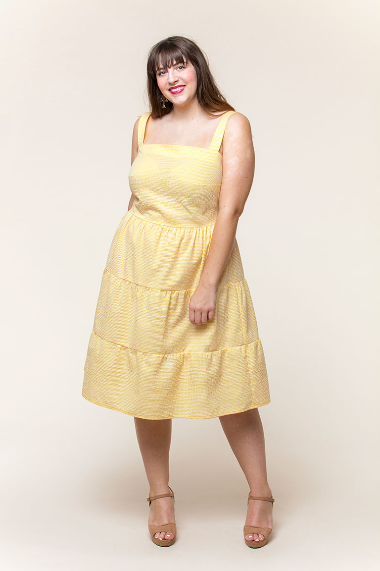 Amber Dress – Seamwork
