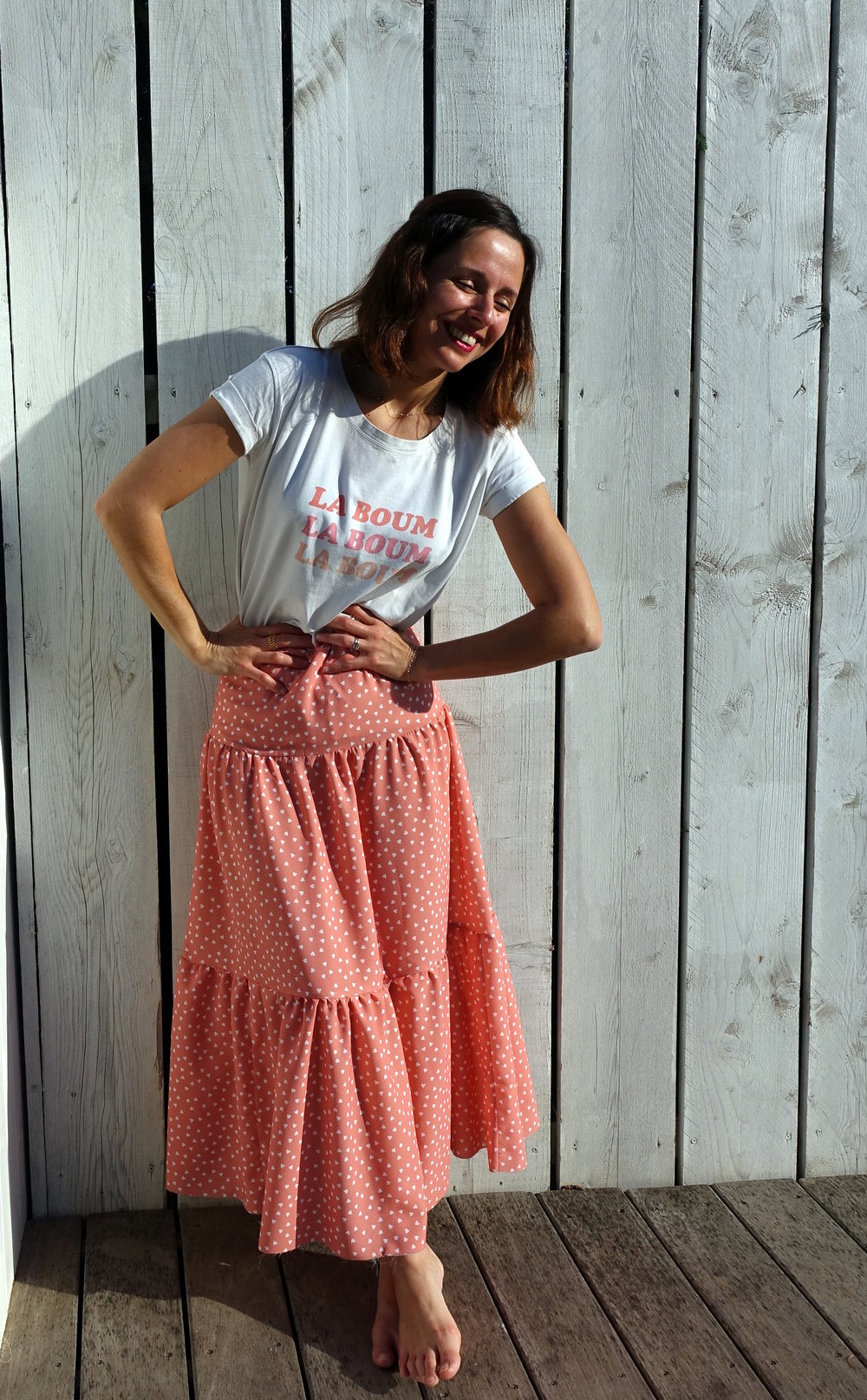 Ivy long skirt - Dessine Moi un Patron