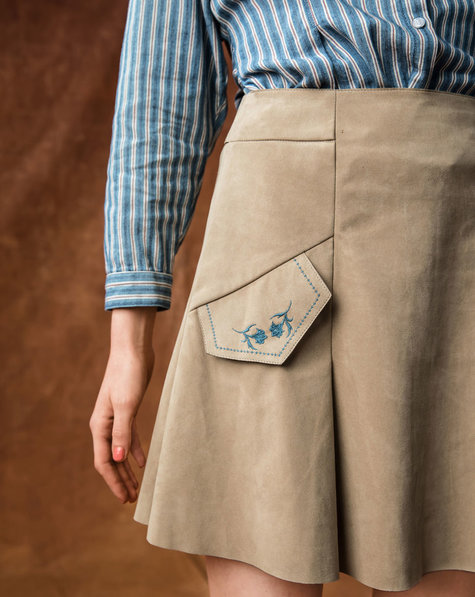 Mini Skirt with Pockets – Burda Style