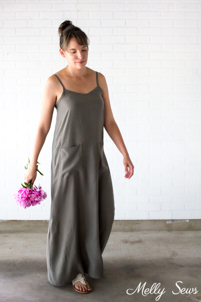 Maxi dress from Melly Sews (when you sign up to the newsletter)