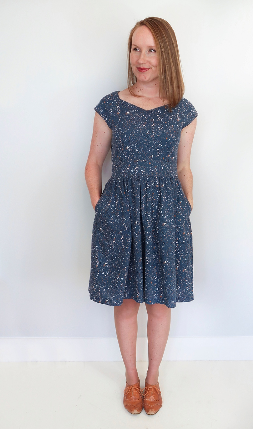 Raine dress from Jennifer Lauren Handmade