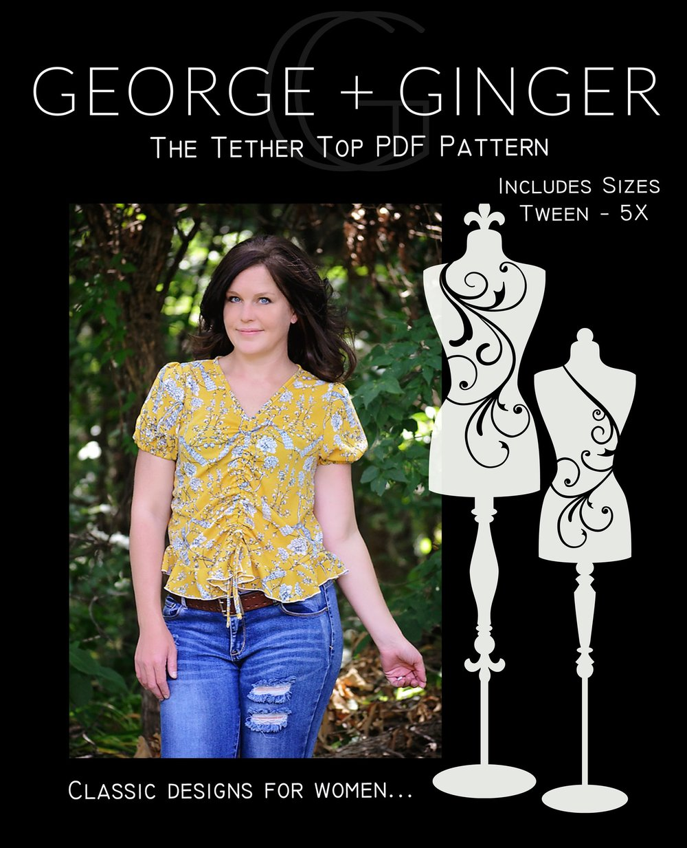 The Tether Top - George + Ginger