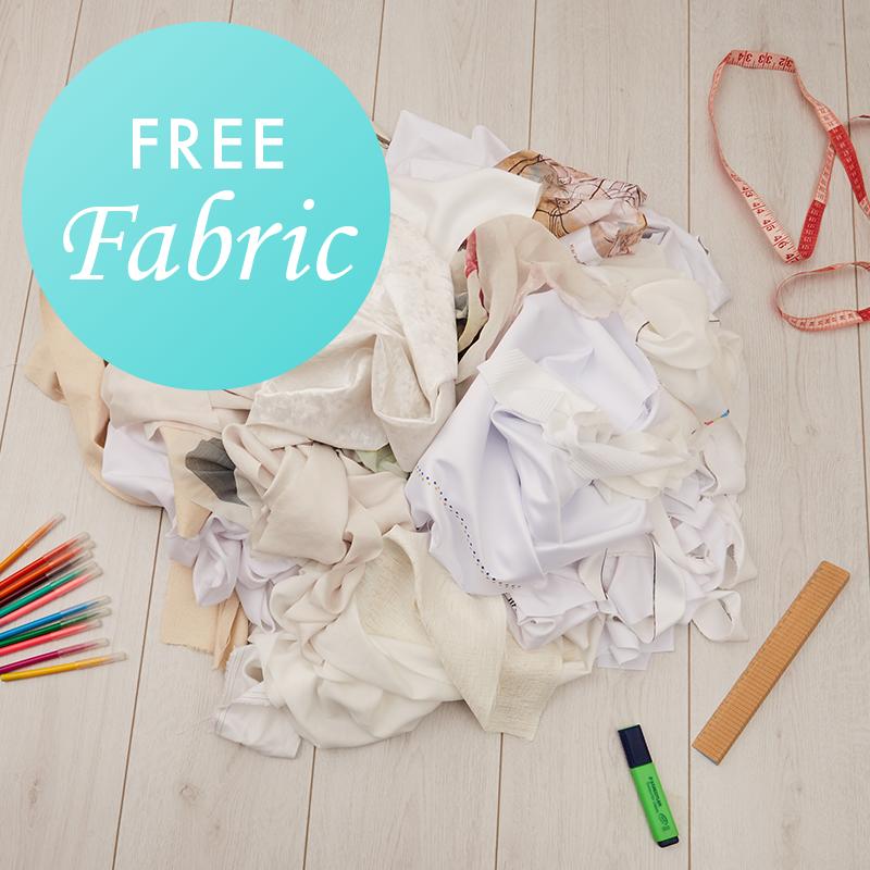 Contrado UK free fabric scraps