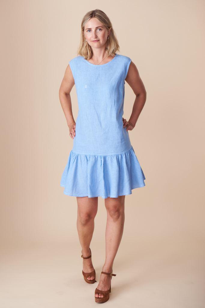 Eloise dress pattern from By Hand London
