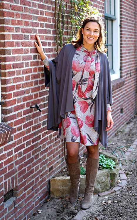 Dress (M1853) Cardigan (M1867)