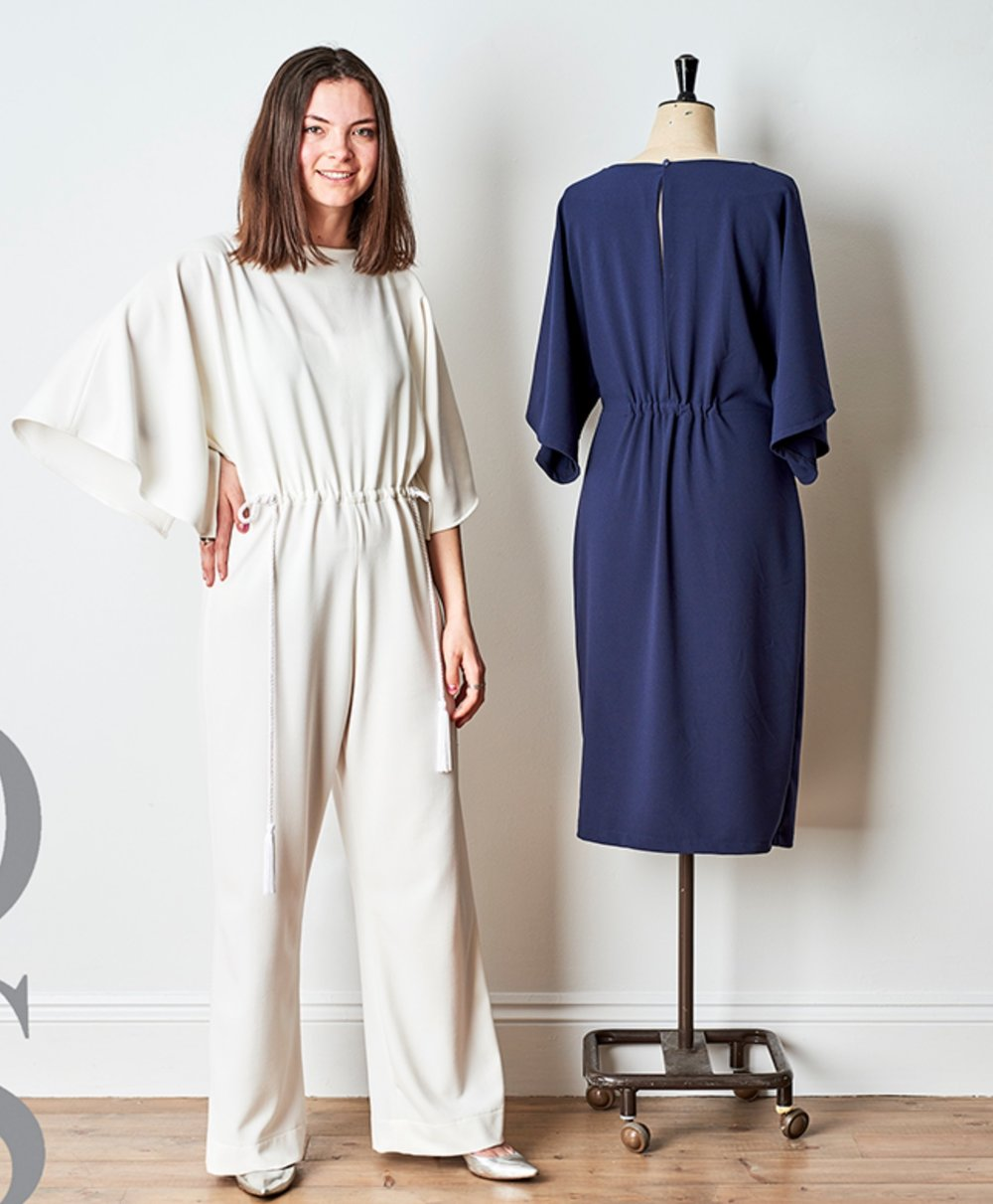 Madeline Robertson Jumpsuit/Dress from the Maker's Atelier