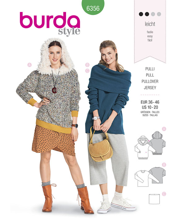 Burda 6356 on The Pattern Pages