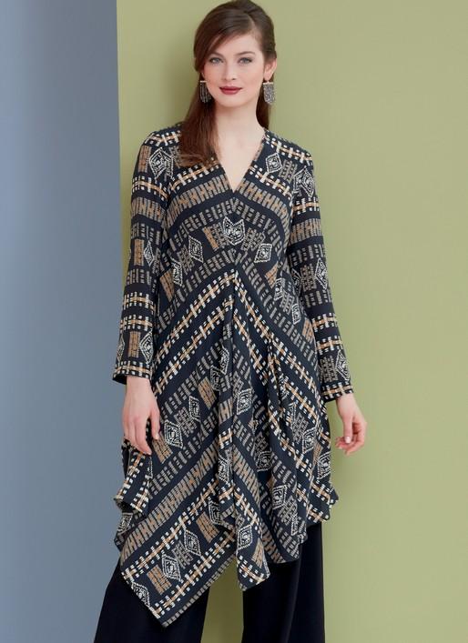 Vogue 9335 Pullover Tunics