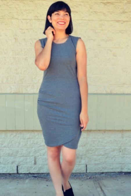 Melanie dress from DG Patterns