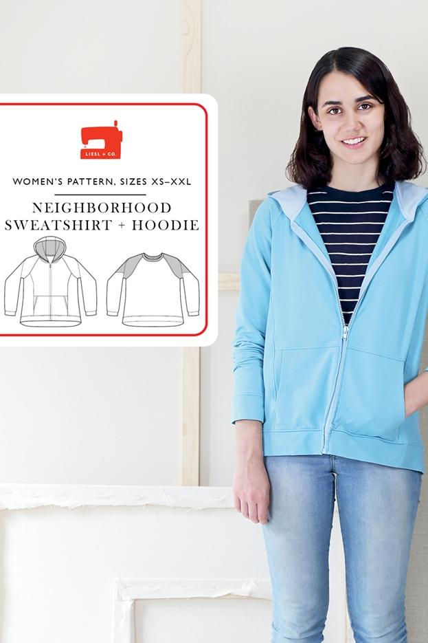 Neighborhood Sweatshirt + Hoodie from Liesl + Co