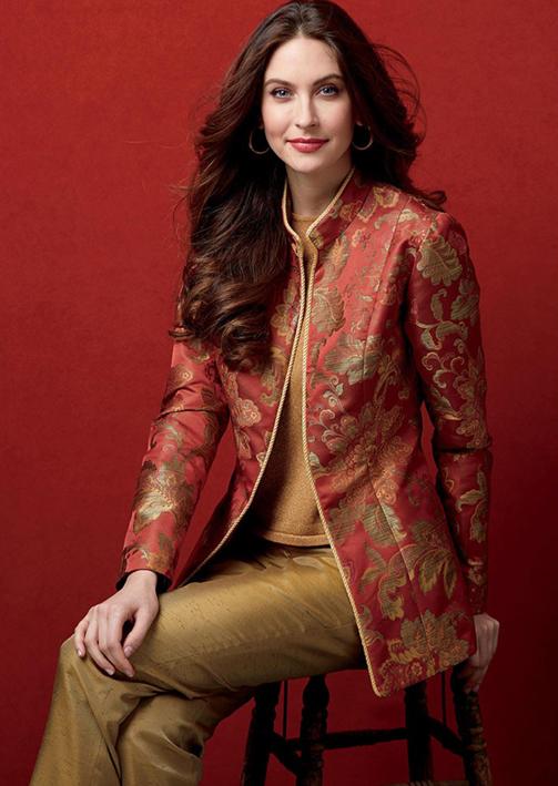 Butterick 6600 oriental style jackets