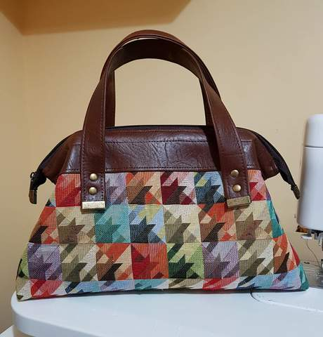 Trifecta bag sewing pattern from Emmaline Bags