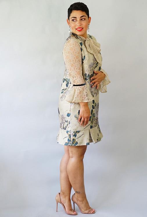 Simplicity 8690 Mimi G Shift dress