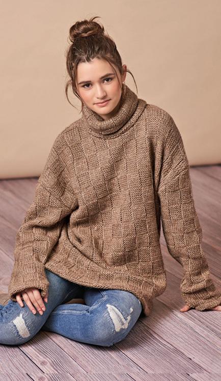 Simplicity 8738 knit dress/top