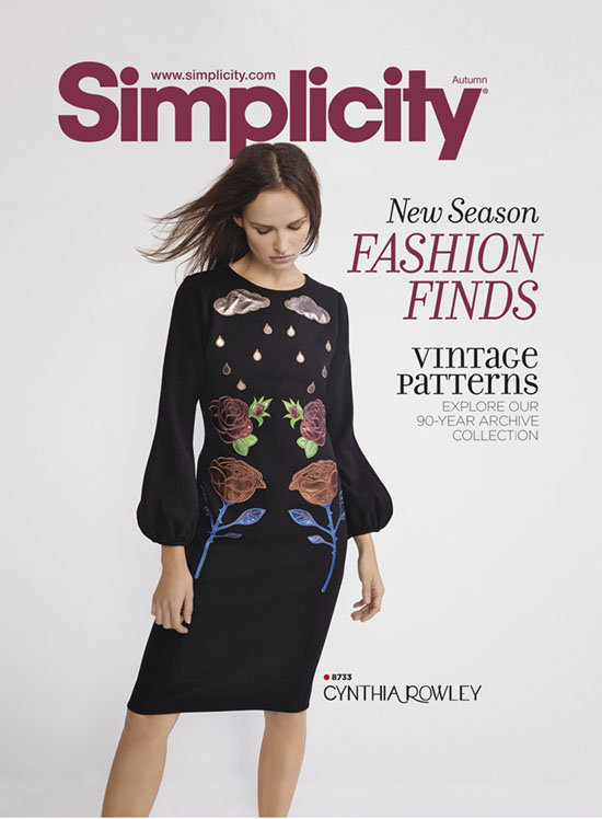 simplicity 1808s front cover