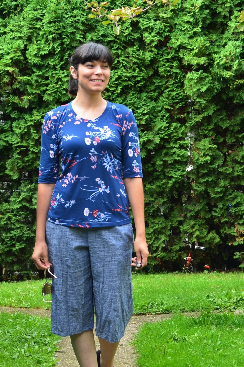 Short Sleeves Knit Top from DG Patterns