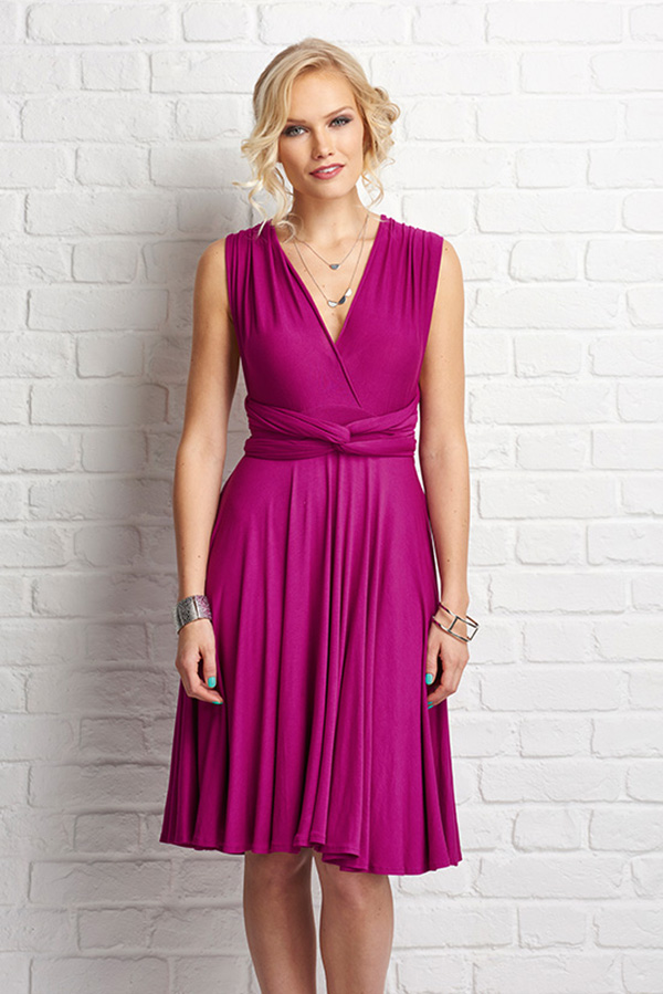 DIY wrap dress tutorial from Portia Lawrie
