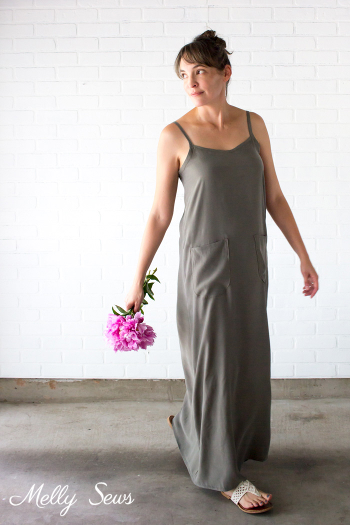 Simple Maxi Dress from Melly Sews