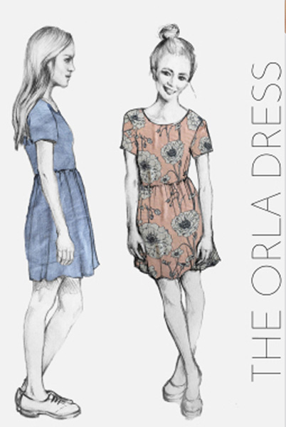 The Orla Dress from French Navy