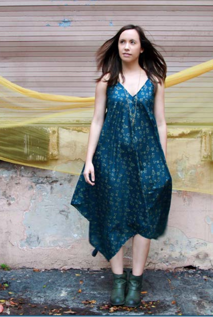 Sparkle Dress from Art Gallery Fabrics