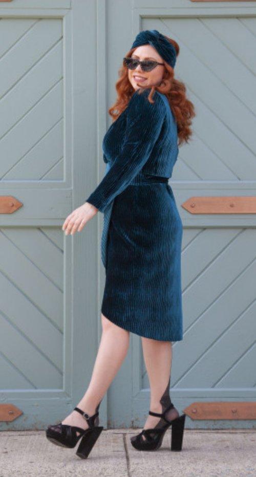 The Xeranthemum dress from Mood Sewciety